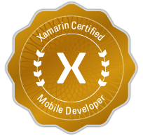 Xamarin Ceritified Mobile Developer Badge-small res